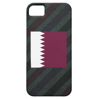 Official Qatar Flag on stripes iPhone 5 Covers