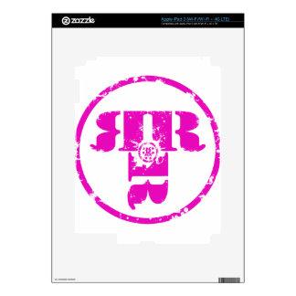 Official Rachel Rene Merchandise iPad 3 Decals