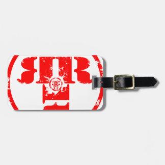 Official Rachel Rene Merchandise Luggage Tag