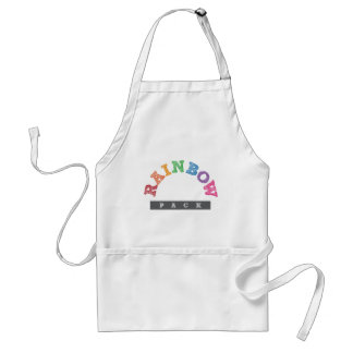Official Rainbow Pack Merchandise Adult Apron