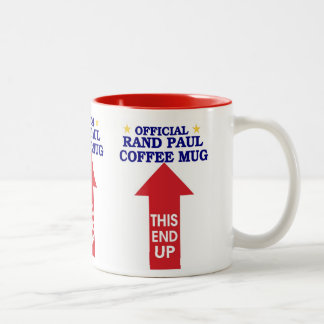 Official Rand Paul Coffee Mug