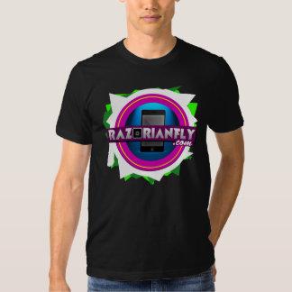 Official RazorianFly.com Tee - Unisex M (Black)