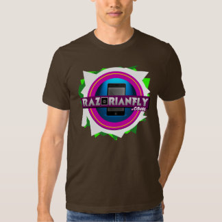 Official RazorianFly.com Tee - Unisex M (Brown)
