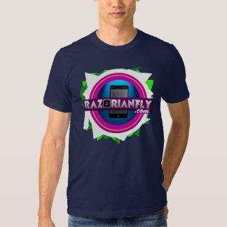 Official RazorianFly.com Tee - Unisex M (Nav Blue)