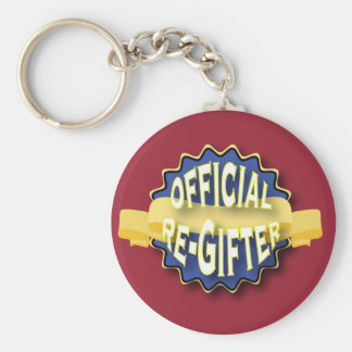 Official Re-Gifter Keychain