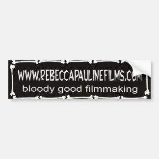 Official Rebecca Pauline Films bumpersticker Car Bumper Sticker