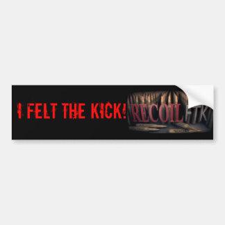 Official Recoil FTK Bumper Sticker Car Bumper Sticker
