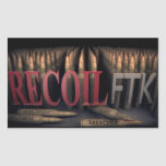 Official Recoil FTK Stickers