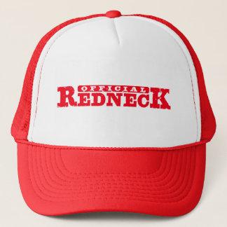Official Redneck. Trucker Hat