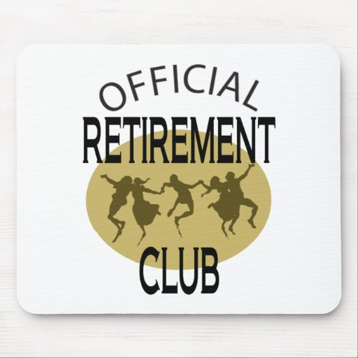 Official Retirement Club Mouse Pad