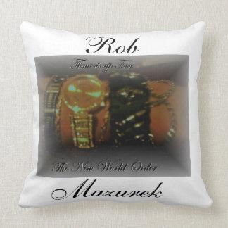 Official  Rob Mazurek Pre-Album Release Fan Pillow