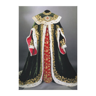 Official robes of the Hungarian Canvas Prints