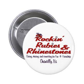 Official Rockin' Rubies & Rhinestones Button