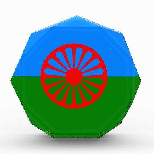 Official Romany Gypsy flag Award