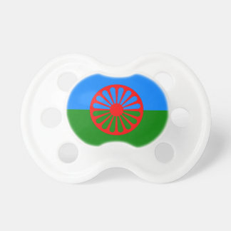 Official Romany gypsy flag Baby Pacifier