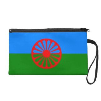 Official Romany gypsy flag Wristlet Clutch