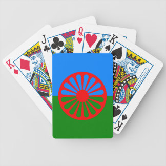 Official Romany Gypsy flag Bicycle Playing Cards