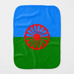 Official Romany gypsy flag Burp Cloth