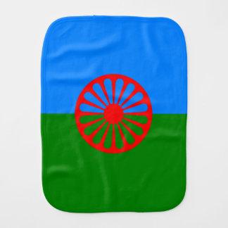 Official Romany gypsy flag Burp Cloths