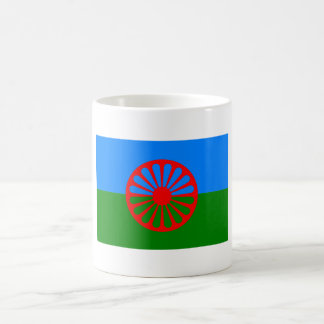 Official Romany gypsy flag Classic White Coffee Mug