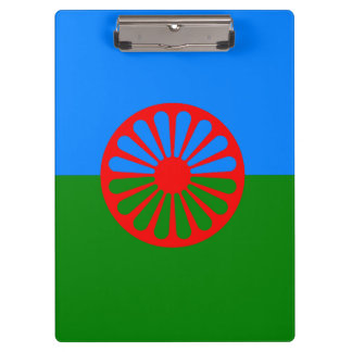 Official Romany gypsy flag Clipboards
