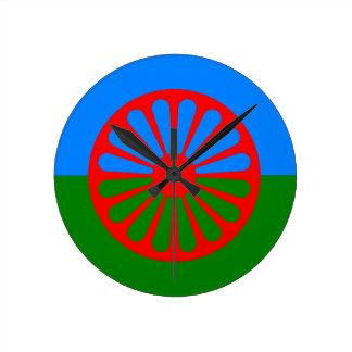 Official Romany gypsy flag Wall Clock