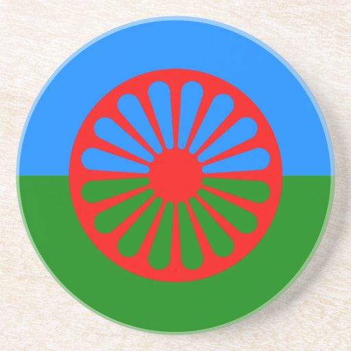 Official Romany gypsy flag Coaster