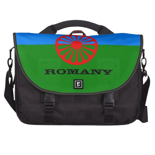 Official Romany gypsy flag Computer Bag