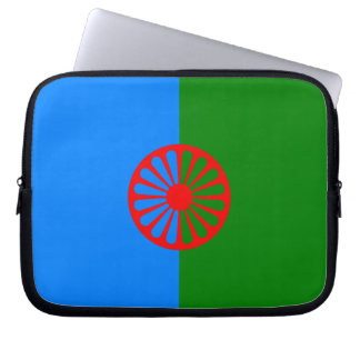 Official Romany gypsy flag Computer Sleeve