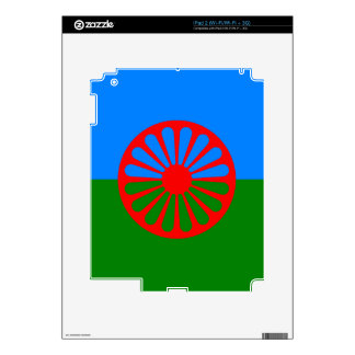 Official Romany Gypsy flag Decal For The iPad 2