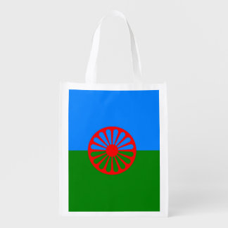 Official Romany gypsy flag Grocery Bag