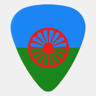 Official Romany gypsy flag Guitar Pick