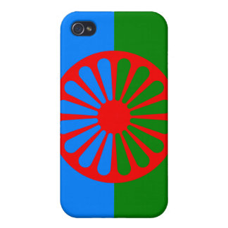 Official Romany gypsy flag iPhone 4/4S Case