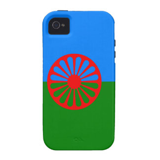 Official Romany Gypsy flag iPhone 4 Cases