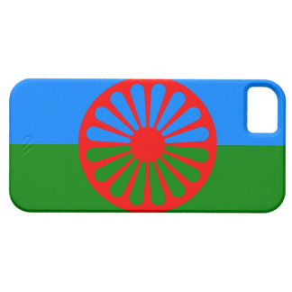 Official Romany gypsy flag iPhone SE/5/5s Case