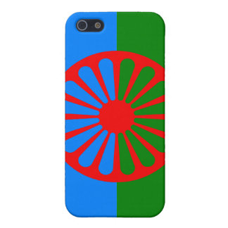 Official Romany gypsy flag iPhone SE/5/5s Cover
