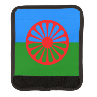 Official Romany gypsy flag Luggage Handle Wrap