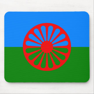Official Romany gypsy flag Mouse Pad
