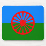 Official Romany gypsy flag Mousepad