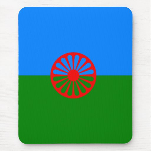 Official Romany gypsy flag Mouse Pads