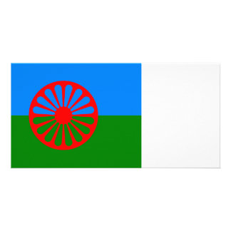 Official Romany gypsy flag Photo Cards