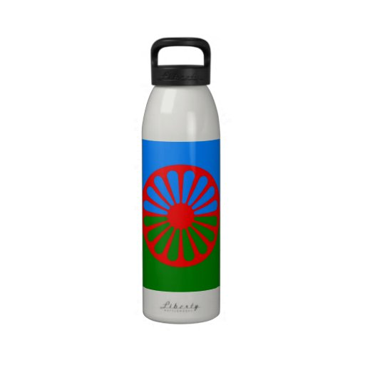Official Romany gypsy flag Reusable Water Bottles | Zazzle