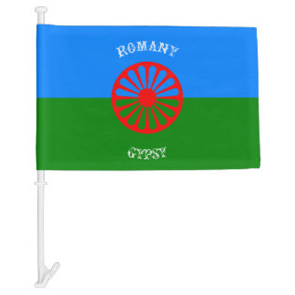 Official romany gypsy flag symbol