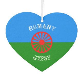 Official romany gypsy flag symbol