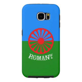 Official romany gypsy flag symbol samsung galaxy s6 case