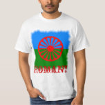 Official Romany gypsy flag T Shirts