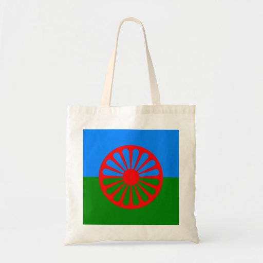 Official Romany gypsy flag Tote Bag