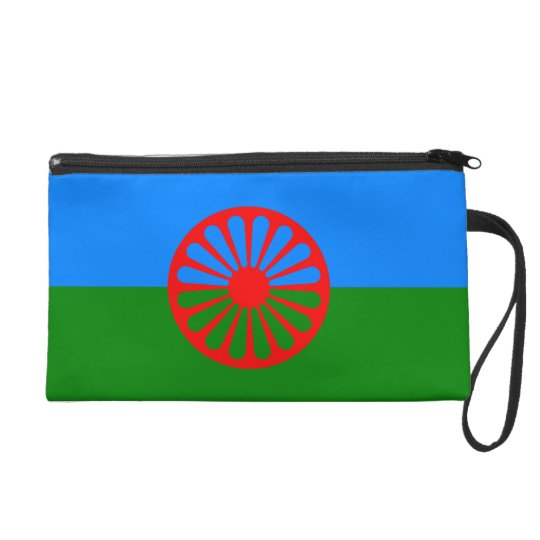 Official Romany gypsy flag Wristlet Purse