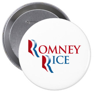OFFICIAL ROMNEY RICE.png 4 Inch Round Button