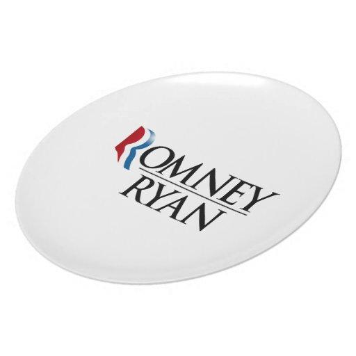 OFFICIAL ROMNEY RYAN 2012 -.png Dinner Plate